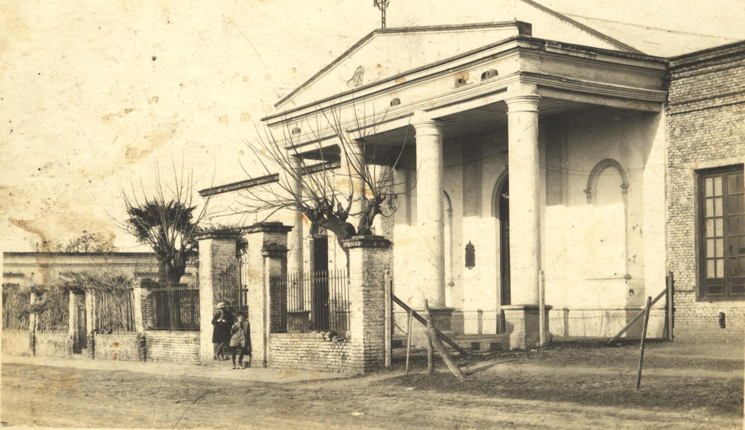 Vieja Iglesia San Carlos Borromeo.