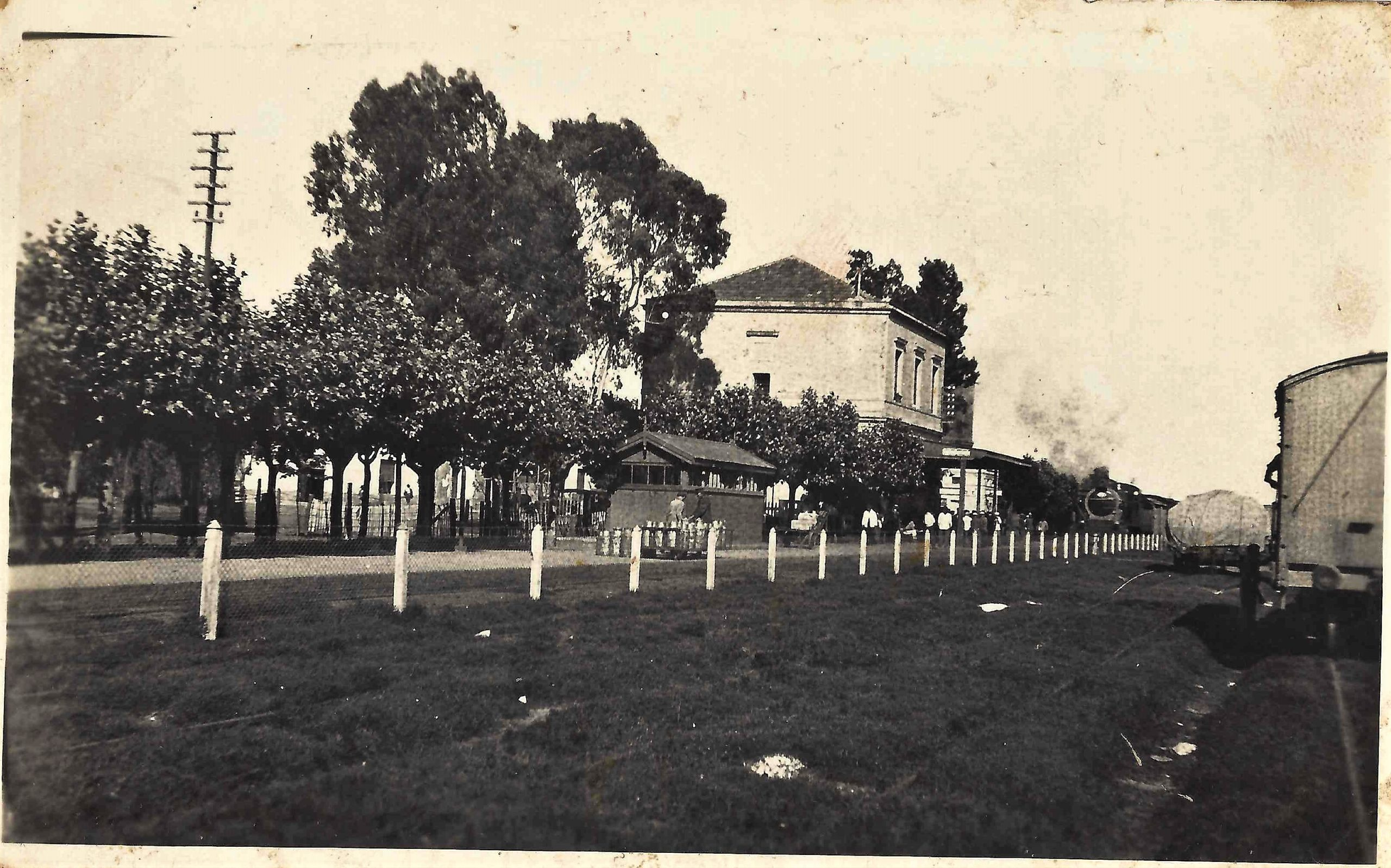 Estación Capitán Sarmiento.